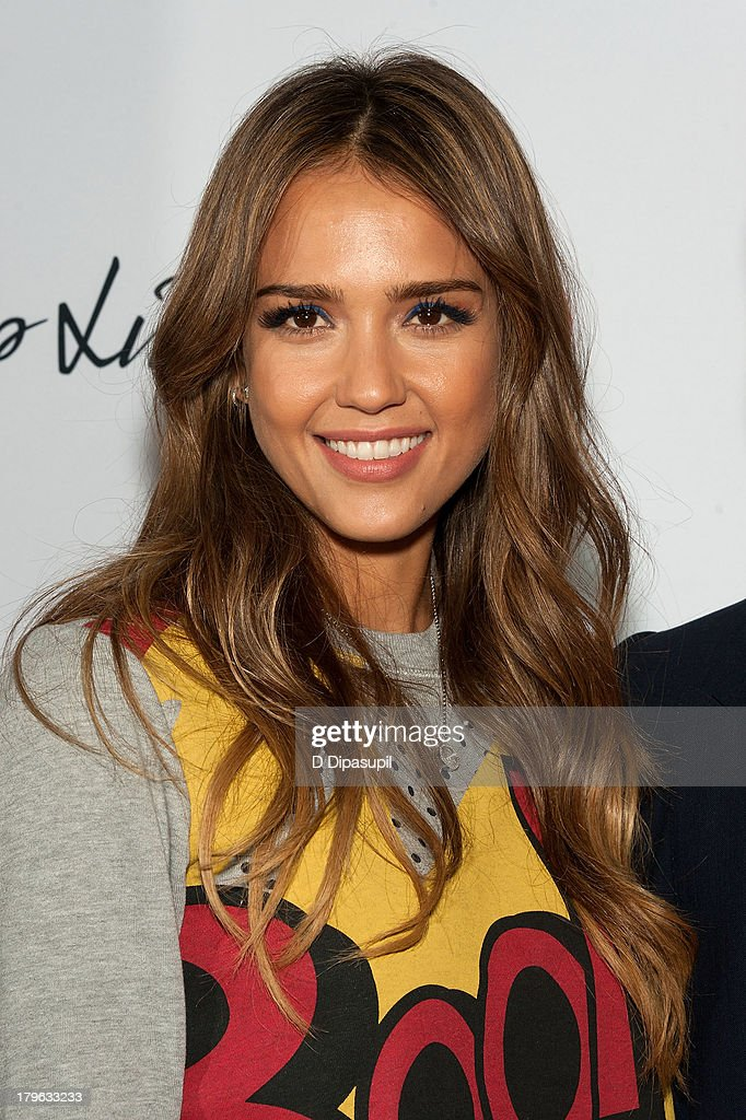 Actress <a gi-track='captionPersonalityLinkClicked' href=/galleries/search?phrase=Jessica+Alba&family=editorial&specificpeople=201811 ng-click='$event.stopPropagation()'>Jessica Alba</a> attends the 3.1 Phillip Lim for Target Launch Event at Spring Studio on September 5, 2013 in New York City.