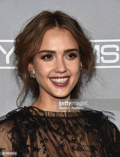 Actress Jessica Alba attends the 5th Annual Baby2Baby Gala at 3LABS on November 12 2016 in Culver City California
