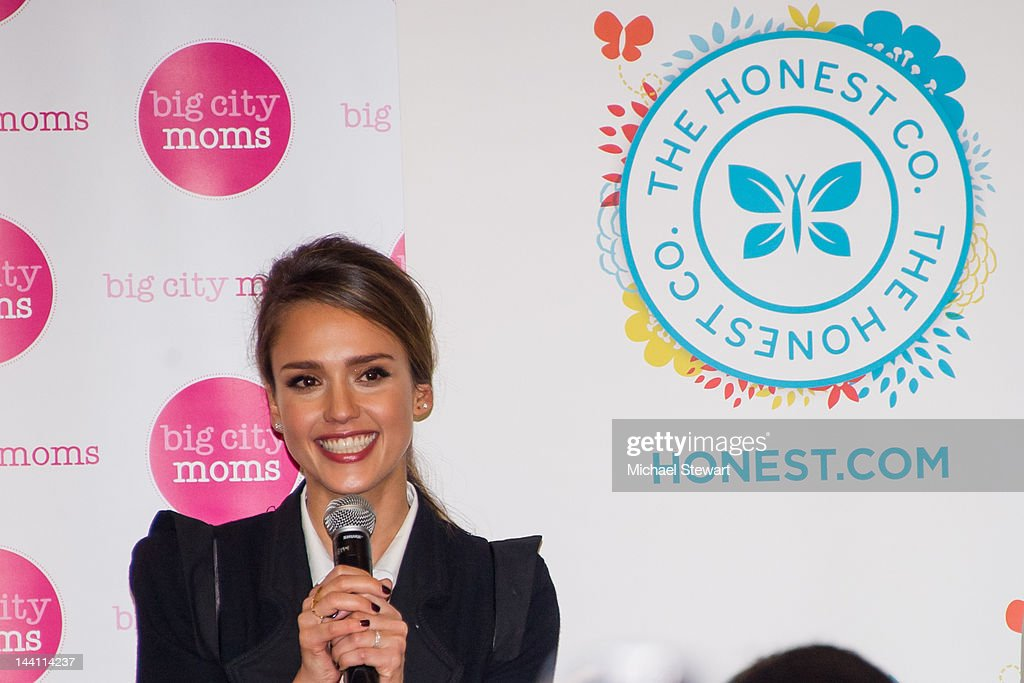 Actress <a gi-track='captionPersonalityLinkClicked' href=/galleries/search?phrase=Jessica+Alba&family=editorial&specificpeople=201811 ng-click='$event.stopPropagation()'>Jessica Alba</a> attends the Big City Moms Biggest Baby Shower Ever produced by Big City Moms and Fit Pregnancy on May 9, 2012 in New York City.