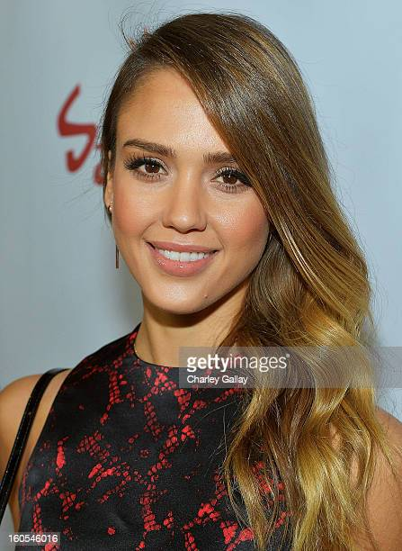 Actress Jessica Alba attends the 'Escape From Planet Earth' premiere presented by The Weinstein Company in partnership with Sabra at Mann Chinese 6...