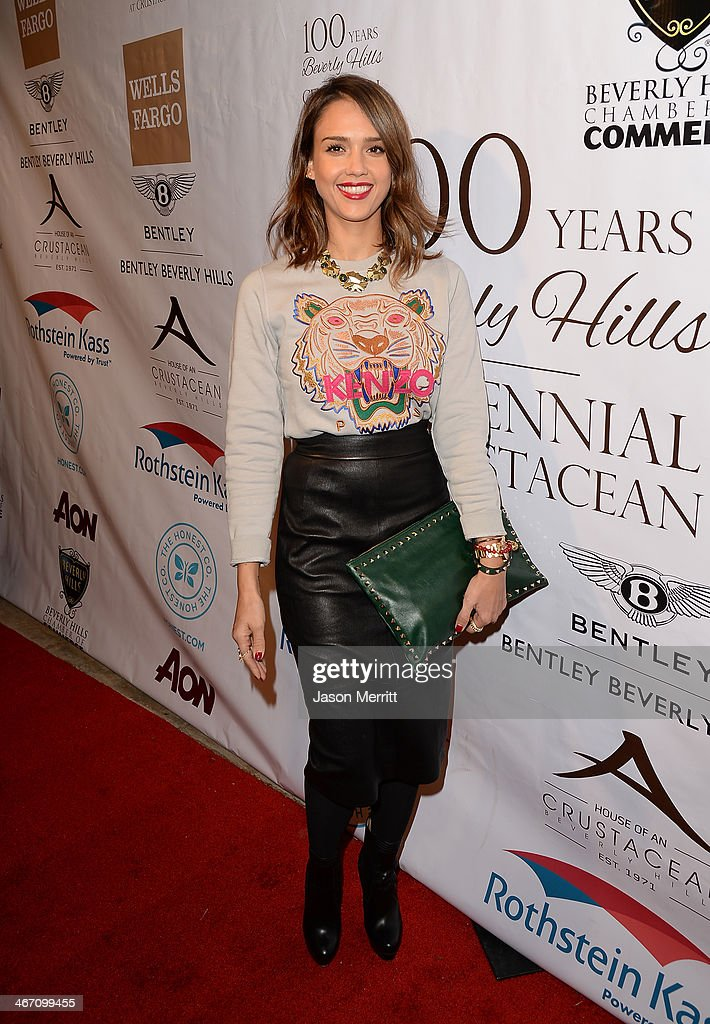Actress <a gi-track='captionPersonalityLinkClicked' href=/galleries/search?phrase=Jessica+Alba&family=editorial&specificpeople=201811 ng-click='$event.stopPropagation()'>Jessica Alba</a> attends the