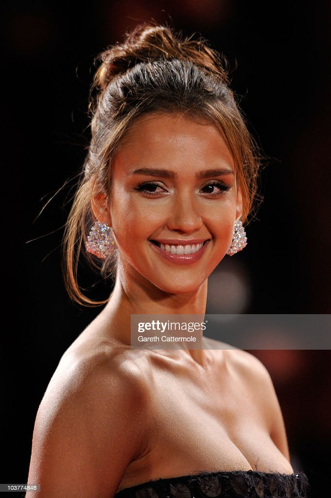 Actress Jessica Alba attends the 'Machete' premiere during the 67th Venice Film Festival at the Sala Grande Palazzo Del Cinema on September 1 2010 in...