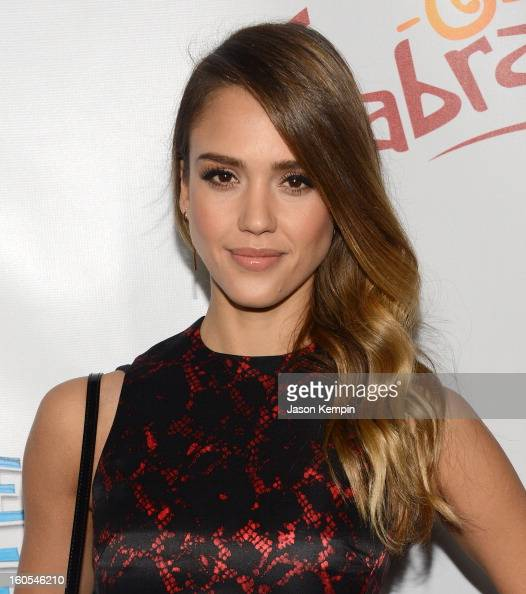 Actress Jessica Alba attends the premiere of The Weinstein Company's 'Escape From Planet Earth' at Mann Chinese 6 on February 2 2013 in Los Angeles...
