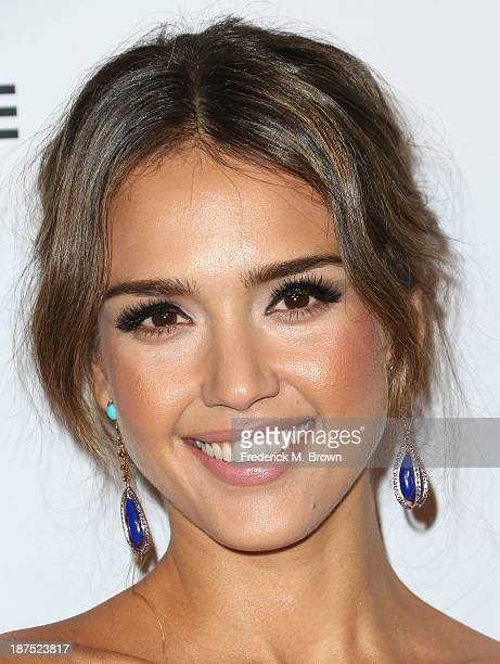 Actress Jessica Alba attends the Second Annual Baby2Baby Gala at the Book Bindery on November 9 2013 in Culver City California
