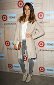 Actress Jessica Alba attends the TOMS for Target launch event at The Bookbindery on November 12 2014 in Culver City California