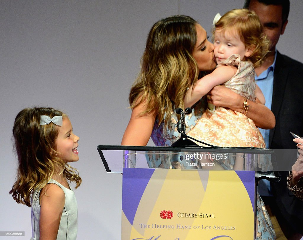 Actress Jessica Alba Cash Warren Honor Warren and Haven Warren at The Helping Hand of Los Angeles Mother's Day Luncheon at The Beverly Hilton Hotel...