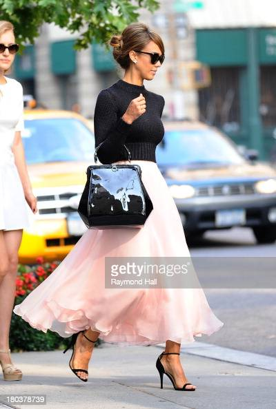 Actress Jessica Alba is seen in Soho on September 12 2013 in New York City