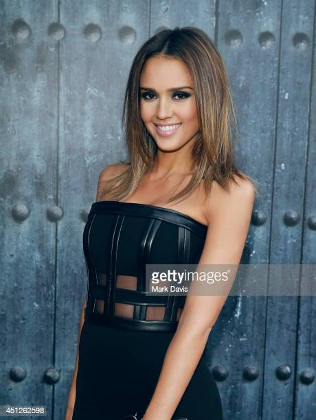 Actress Jessica Alba poses for a portrait at the TV's 'Guys Choice 2014' at Sony Pictures Studios on June 7 2014 in Los Angeles California