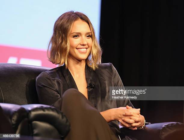 Actress Jessica Alba speaks at 'Inc Presents The Honest Company' during the 2015 SXSW Music Film Interactive Festival at the Austin Convention Center...