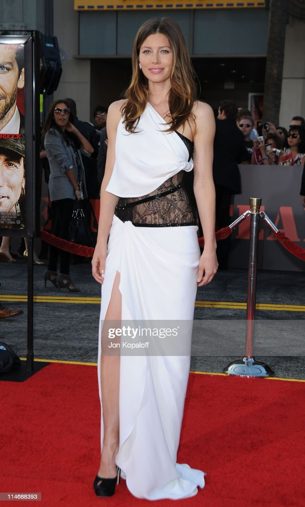 Actress Jessica Biel arrives at the Los Angeles Premiere 'The ATeam' at Grauman's Chinese Theatre on June 3 2010 in Hollywood California