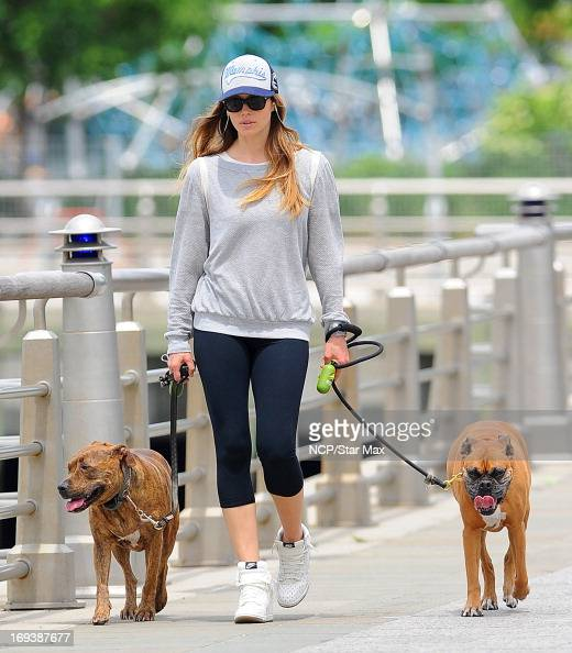 Actress Jessica Biel as seen on May 23 2013 in New York City