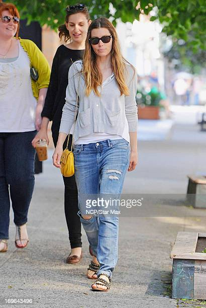 Actress Jessica Biel as seen on May 29 2013 in New York City