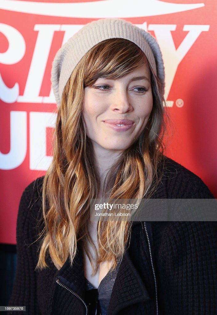 Actress <a gi-track='captionPersonalityLinkClicked' href=/galleries/search?phrase=Jessica+Biel&family=editorial&specificpeople=203011 ng-click='$event.stopPropagation()'>Jessica Biel</a> attends Day 1 of the Variety Studio at 2013 Sundance Film Festival on January 19, 2013 in Park City, Utah.