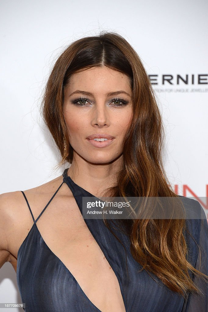 Actress Jessica Biel attends Film District And Chrysler With The Cinema Society Premiere Of 'Playing For Keeps' at AMC Lincoln Square Theater on December 5, 2012 in New York City.