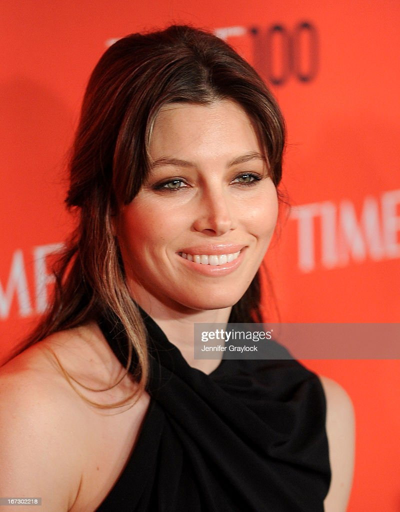 Actress <a gi-track='captionPersonalityLinkClicked' href=/galleries/search?phrase=Jessica+Biel&family=editorial&specificpeople=203011 ng-click='$event.stopPropagation()'>Jessica Biel</a> attends the 2013 Time 100 Gala at Frederick P. Rose Hall, Jazz at Lincoln Center on April 23, 2013 in New York City.