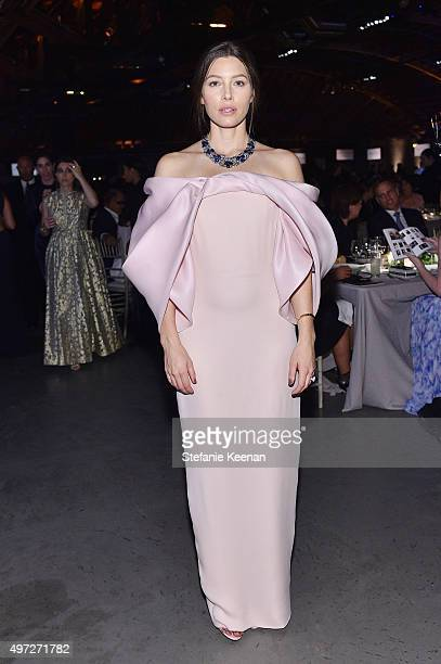 Actress Jessica Biel attends the 2015 Baby2Baby Gala presented by MarulaOil Kayne Capital Advisors Foundation honoring Kerry Washington at 3LABS on...