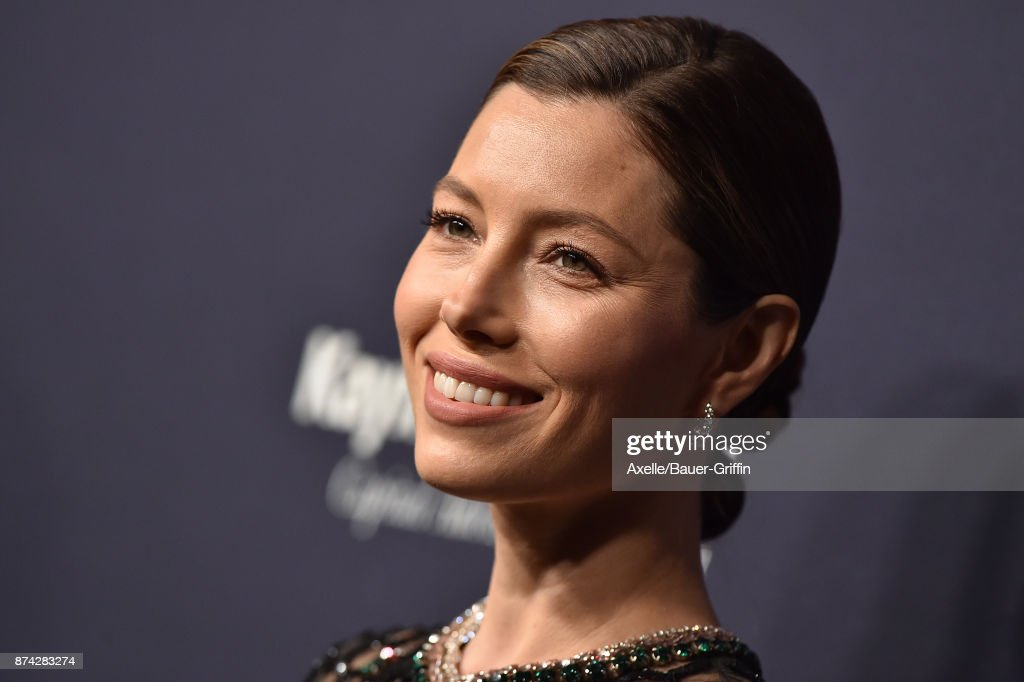 Actress Jessica Biel attends the 2017 Baby2Baby Gala at 3LABS on November 11, 2017 in Culver City, California.