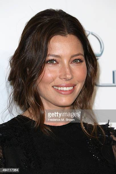 Actress Jessica Biel attends the 25th annual EMA Awards presented by Toyota and Lexus and hosted by the Environmental Media Association at Warner...