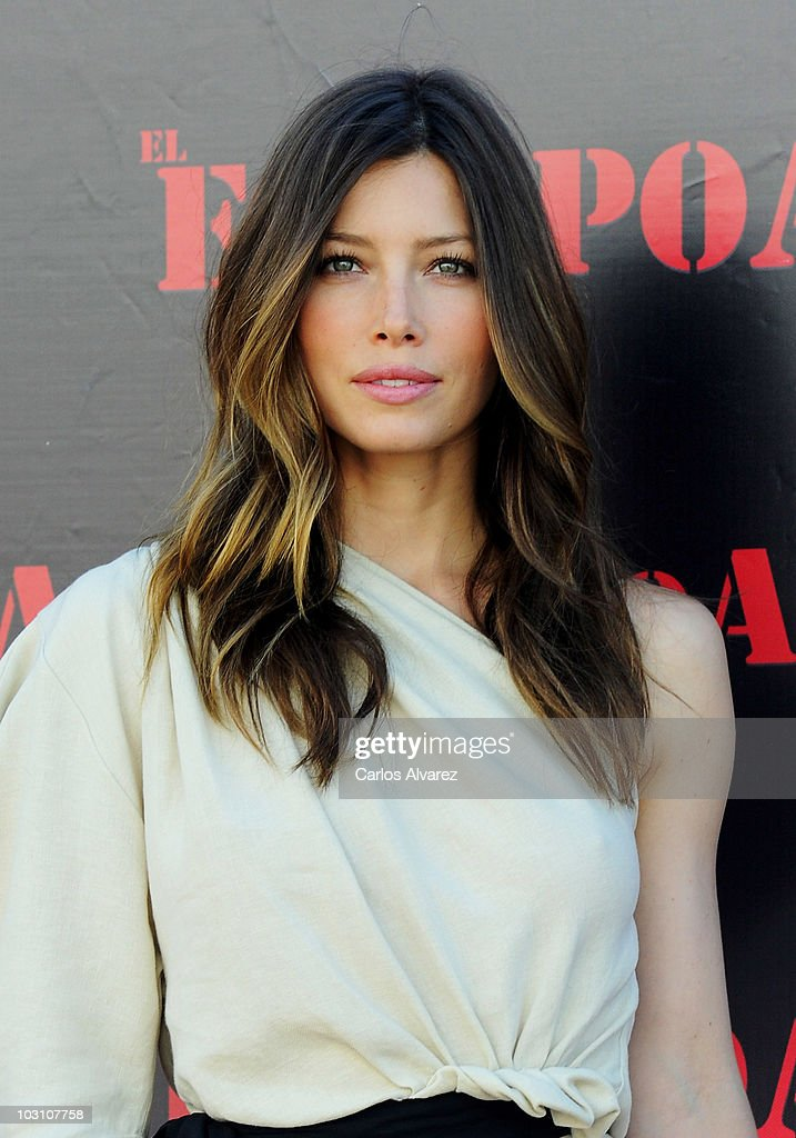 Actress Jessica Biel attends 'The A-Team' photocall at ME Hotel on July 26, 2010 in Madrid, Spain.