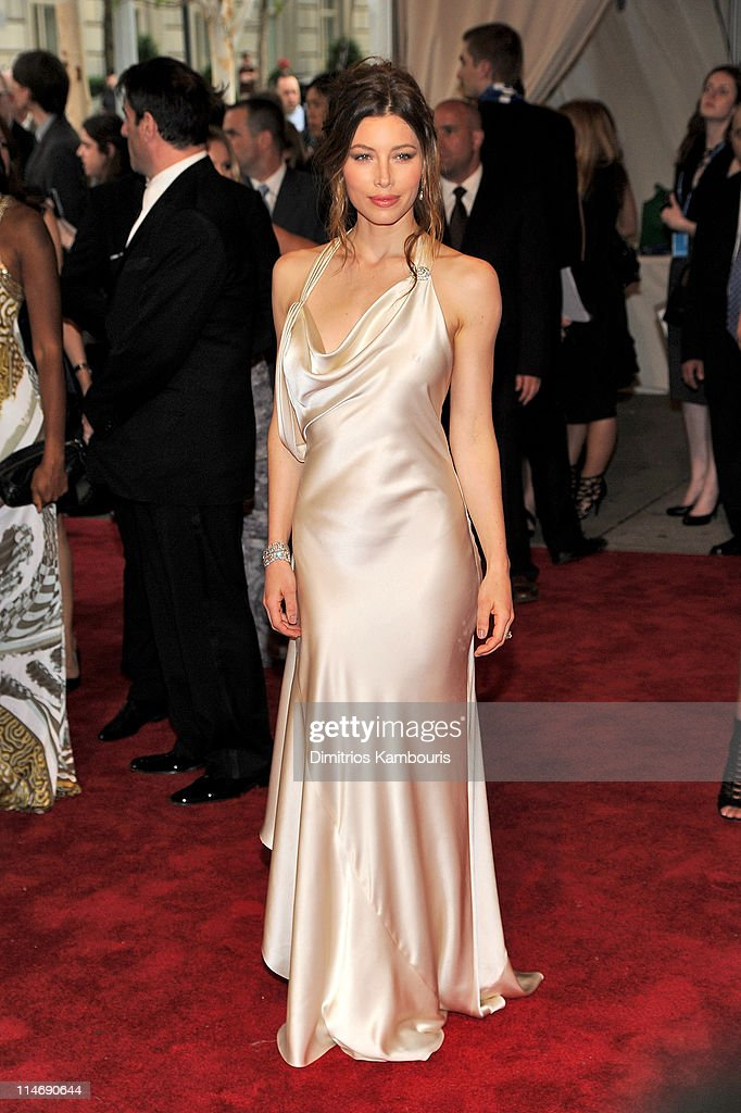 Actress Jessica Biel attends the Costume Institute Gala Benefit to celebrate the opening of the 'American Woman: Fashioning a National Identity' exhibition at The Metropolitan Museum of Art on May 3, 2010 in New York City.