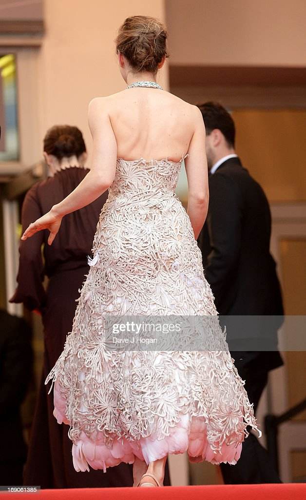 Actress Jessica Biel attends the 'Inside Llewyn Davis' Premiere during the 66th Annual Cannes Film Festival at Grand Theatre Lumiere on May 19, 2013 in Cannes, France.