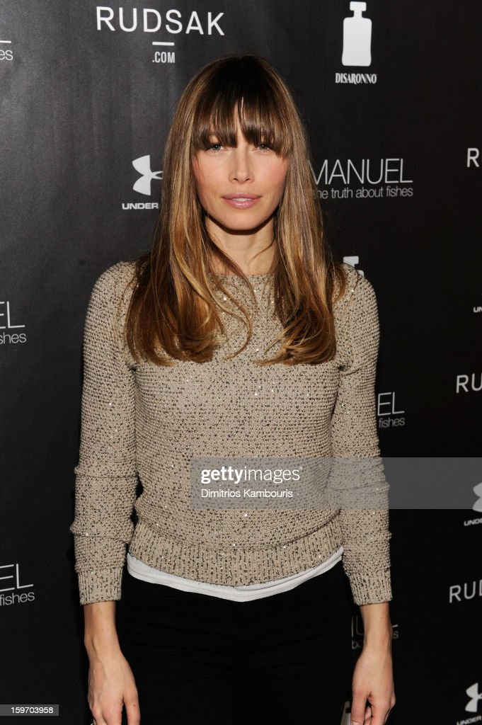 Actress Jessica Biel attends The Next Generation Filmmaker Dinner Series Presents 'Emanuel And The Truth About Fishes' on January 18, 2013 in Park City, Utah.
