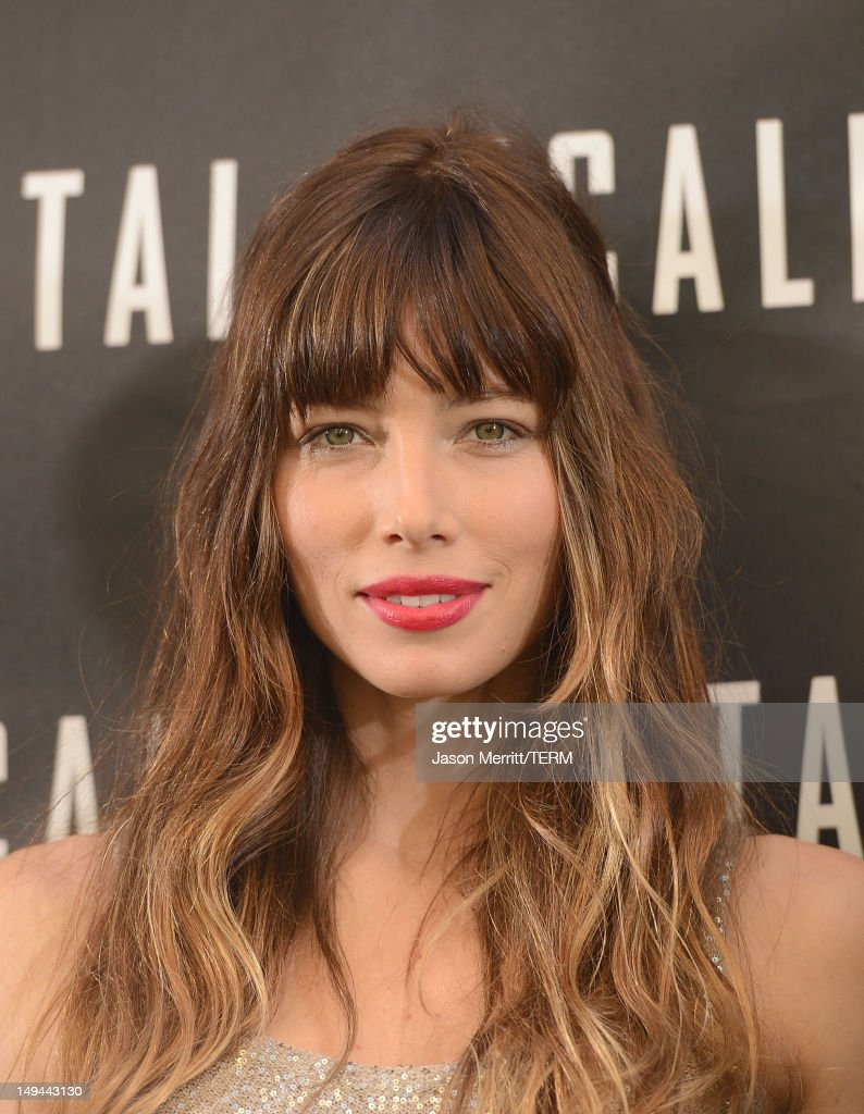 Actress <a gi-track='captionPersonalityLinkClicked' href=/galleries/search?phrase=Jessica+Biel&family=editorial&specificpeople=203011 ng-click='$event.stopPropagation()'>Jessica Biel</a> attends the photo call for Columbia Pictures' 'Total Recall' held at the Four Seasons Hotel on July 28, 2012 in Los Angeles, California.