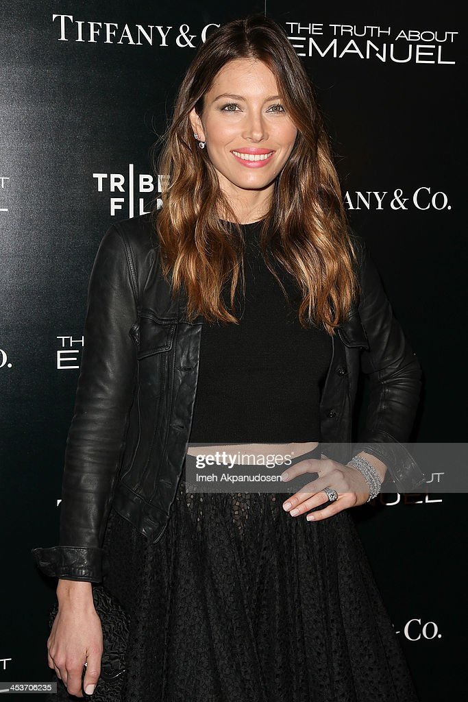 Actress <a gi-track='captionPersonalityLinkClicked' href=/galleries/search?phrase=Jessica+Biel&family=editorial&specificpeople=203011 ng-click='$event.stopPropagation()'>Jessica Biel</a> attends the premiere of Tribeca Film and Well Go USA's 'The Truth About Emanuel' at ArcLight Hollywood on December 4, 2013 in Hollywood, California.
