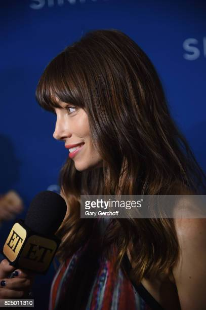 Actress Jessica Biel attends 'The Sinner' series premiere screening at Crosby Street Hotel on July 31 2017 in New York City