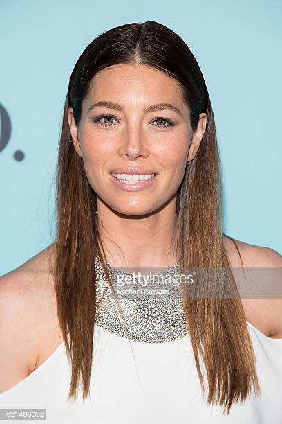 Actress Jessica Biel attends Tiffany Co Celebrates the 2016 Blue Book at The Cunard Building on April 15 2016 in New York City