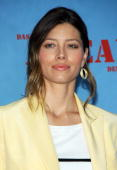 Actress Jessica Biel poses for photographers during a photocall to promote the film 'The ATeam' on July 30 2010 in Berlin Germany