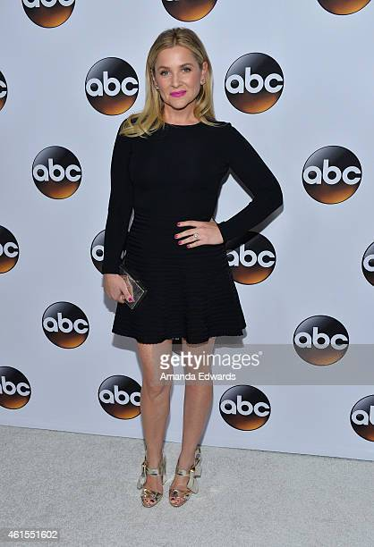 Actress Jessica Capshaw arrives at the ABC TCA 'Winter Press Tour 2015' Red Carpet on January 14 2015 in Pasadena California