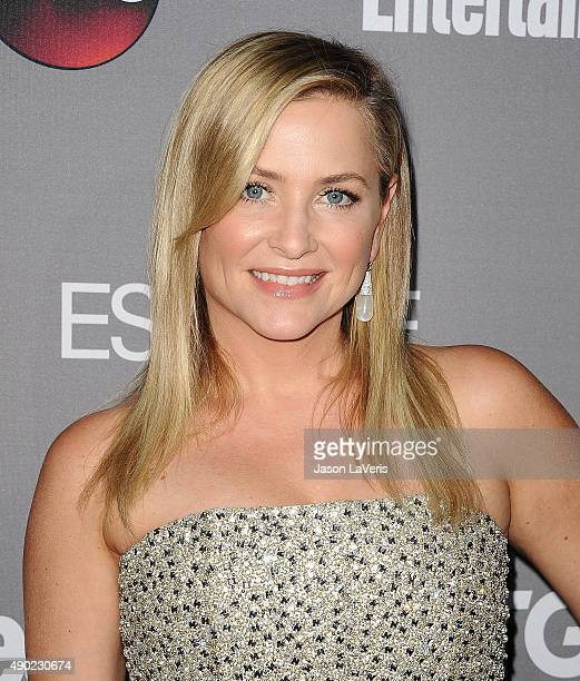 Actress Jessica Capshaw attends ABC's TGIT premiere event on September 26 2015 in West Hollywood California