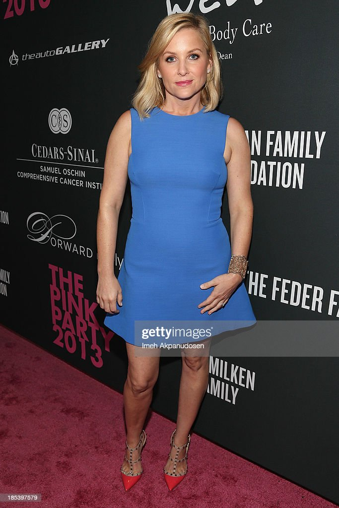 Actress Jessica Capshaw attends FIJI Water at the 9th Annual Pink Party Benefiting The Cedars-Sinai Women's Cancer Program at