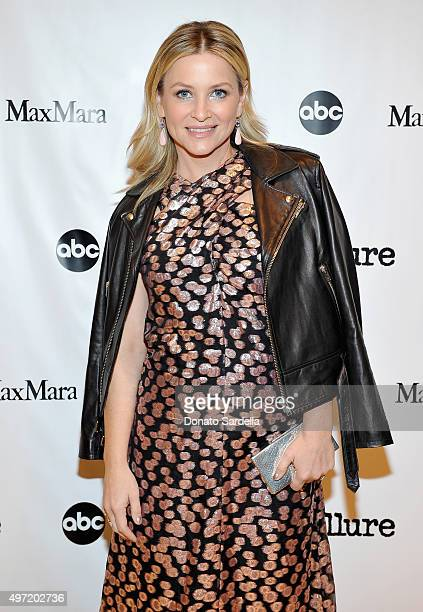 Actress Jessica Capshaw attends 'MaxMara Allure Celebrate ABC's #TGIT' at MaxMara on November 14 2015 in Beverly Hills California