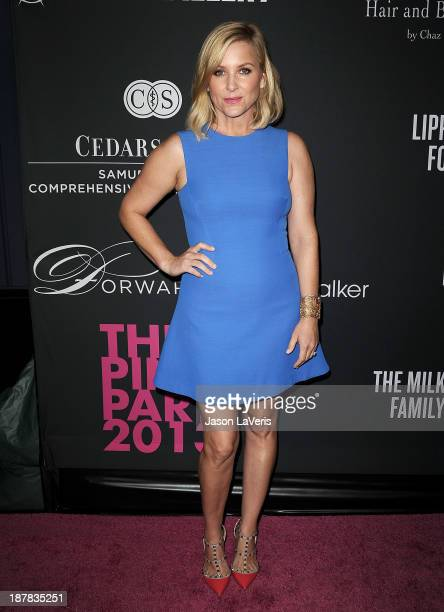 Actress Jessica Capshaw attends the 2013 Pink Party at Hangar 8 on October 19 2013 in Santa Monica California