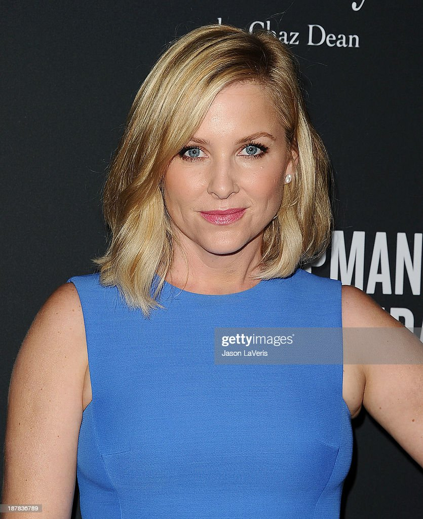 Actress <a gi-track='captionPersonalityLinkClicked' href=/galleries/search?phrase=Jessica+Capshaw&family=editorial&specificpeople=207034 ng-click='$event.stopPropagation()'>Jessica Capshaw</a> attends the 2013 Pink Party at Hangar 8 on October 19, 2013 in Santa Monica, California.