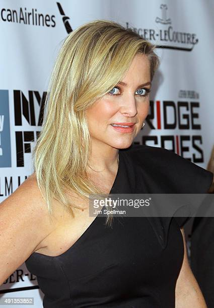 Actress Jessica Capshaw attends the 53rd New York Film Festival premiere of 'Bridge Of Spies' at Alice Tully Hall Lincoln Center on October 4 2015 in...