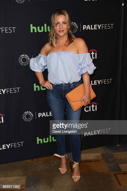 Actress Jessica Capshaw attends The Paley Center for Media's 34th Annual PaleyFest Los Angeles presentation of 'Grey's Anatomy' at Dolby Theatre on...