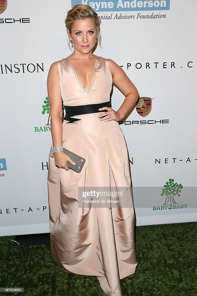 Actress <a gi-track='captionPersonalityLinkClicked' href=/galleries/search?phrase=Jessica+Capshaw&family=editorial&specificpeople=207034 ng-click='$event.stopPropagation()'>Jessica Capshaw</a> attends the Second Annual Baby2Baby Gala at the Book Bindery on November 9, 2013 in Culver City, California.