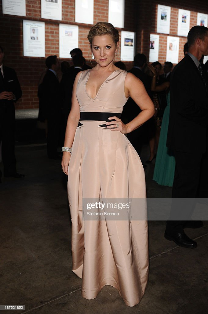 Actress <a gi-track='captionPersonalityLinkClicked' href=/galleries/search?phrase=Jessica+Capshaw&family=editorial&specificpeople=207034 ng-click='$event.stopPropagation()'>Jessica Capshaw</a> attends the second annual Baby2Baby Gala, honoring Drew Barrymore, at Book Bindery on November 9, 2013 in Culver City, California.