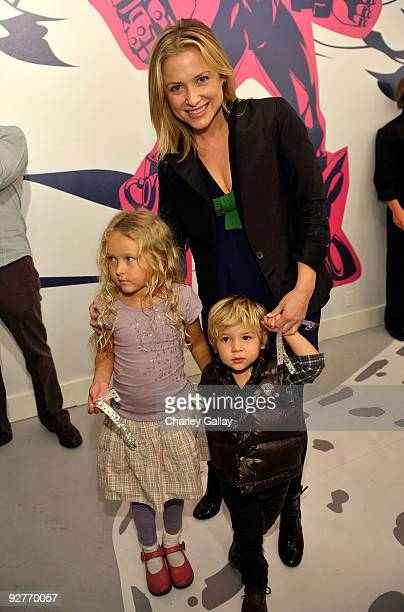Actress Jessica Capshaw attends the Stella McCartney for GapKids Pop Up Store event on November 4 2009 in Beverly Hills California