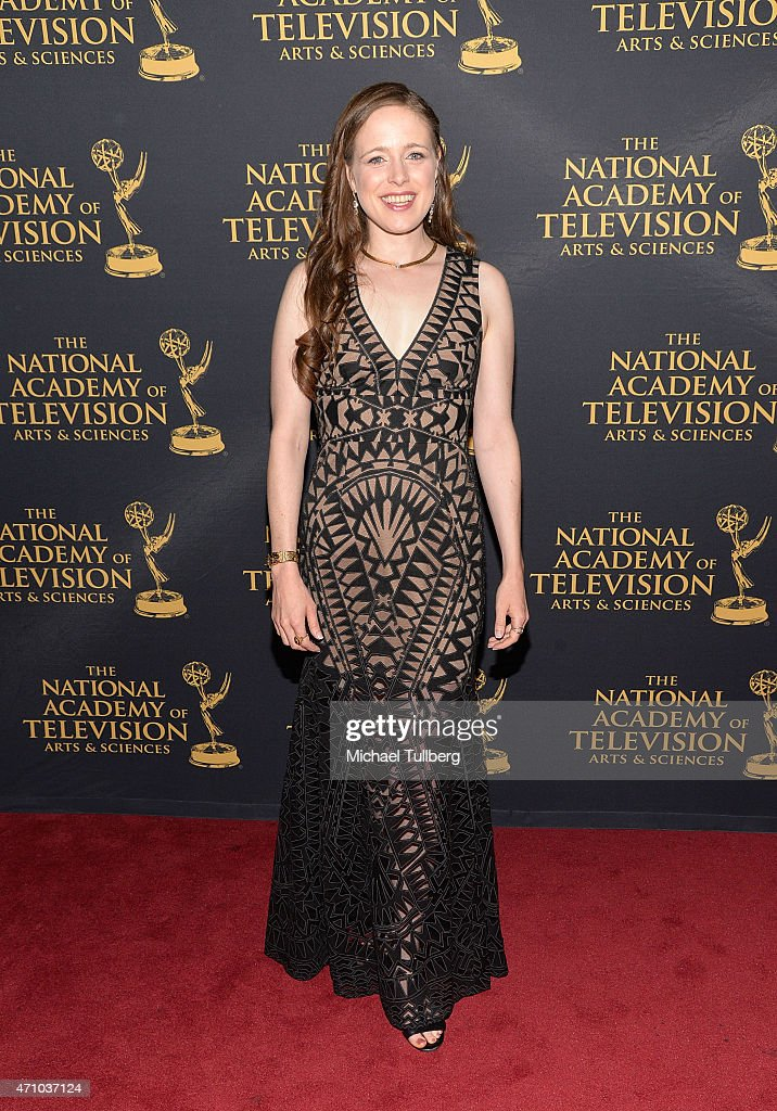 Actress Jessica Carleton attends the 42nd Annual Daytime Creative Arts Emmy Awards at Universal Hilton Hotel on April 24, 2015 in Universal City, California.