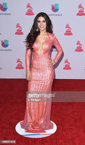 Actress Jessica Cediel attends the 16th Annual Latin GRAMMY Awards at the MGM Grand Garden Arena on November 19 2015 in Las Vegas Nevada
