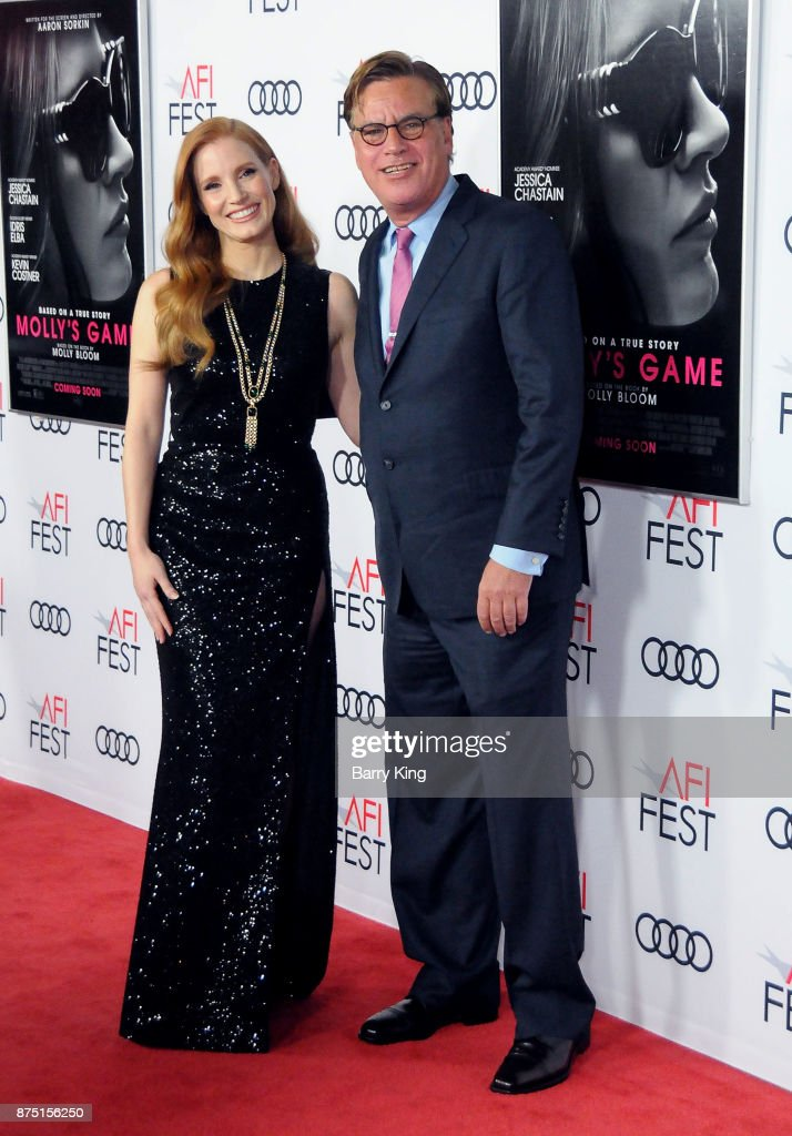 "AFI FEST 2017 Presented By Audi - Closing Night Gala - Screening Of ""Molly's Game"" - Arrivals"