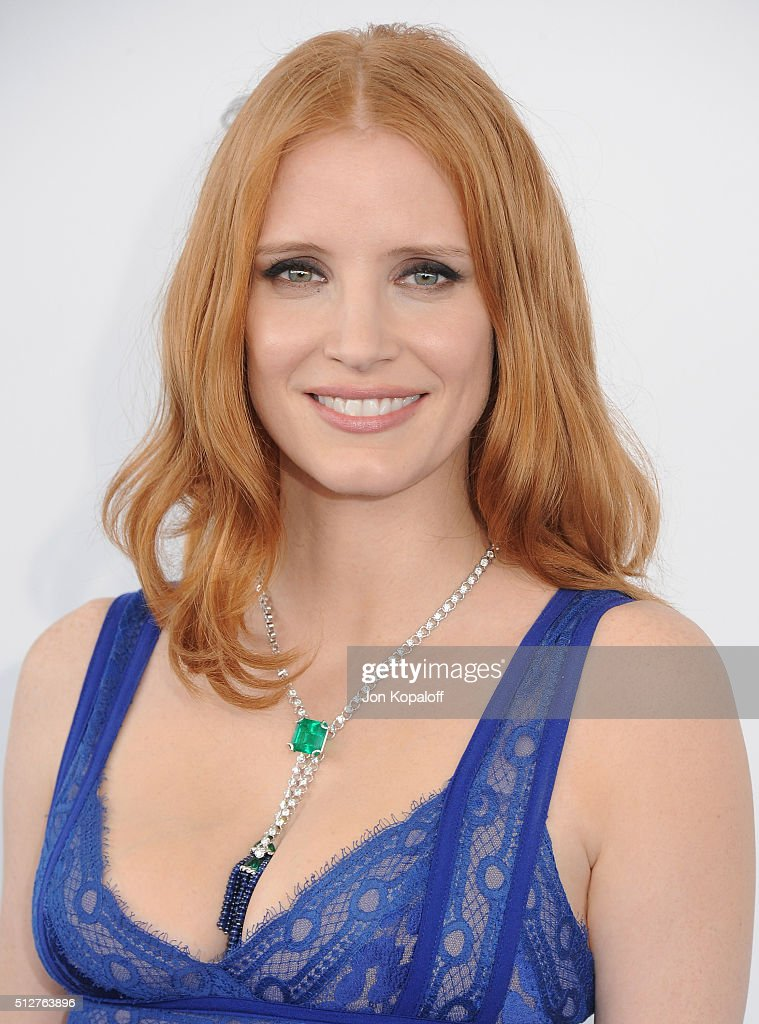 Actress Jessica Chastain arrives at the 2016 Film Independent Spirit Awards on February 27, 2016 in Los Angeles, California.