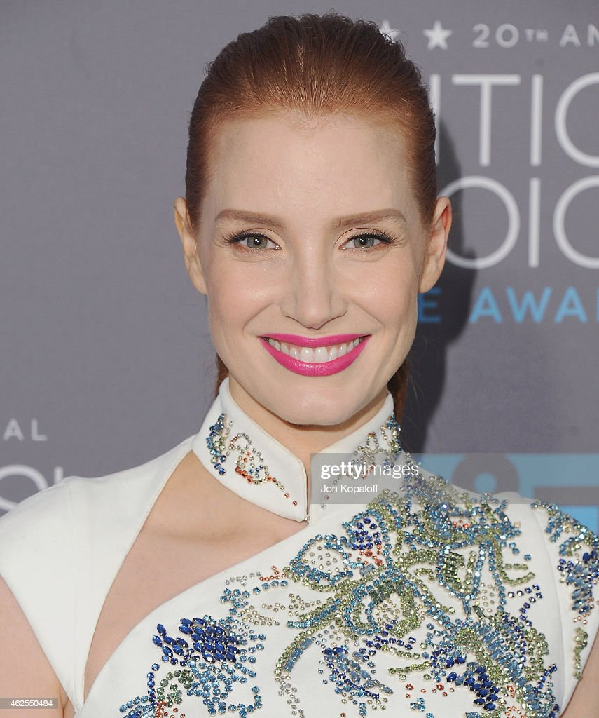 Actress Jessica Chastain arrives at the 20th Annual Critics' Choice Movie Awards at Hollywood Palladium on January 15, 2015 in Los Angeles, California.