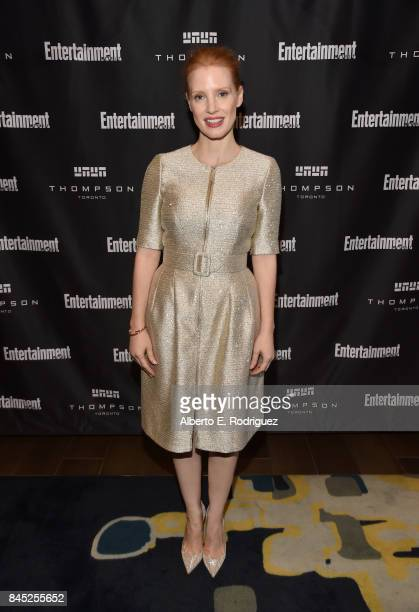 Actress Jessica Chastain attends Entertainment Weekly's Must List Party during the Toronto International Film Festival 2017 at the Thompson Hotel on...