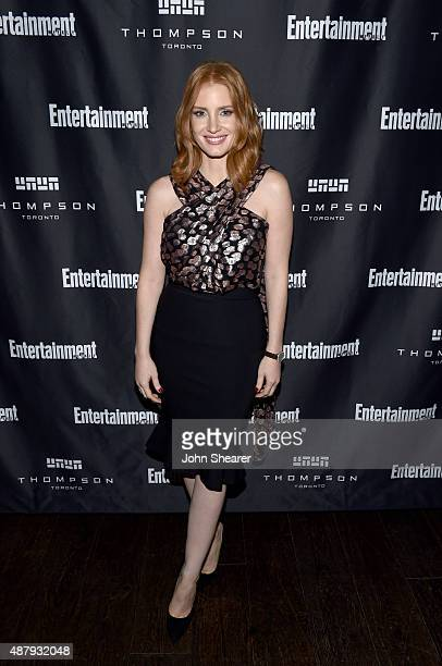 Actress Jessica Chastain attends EW's Must List Party during the 2015 Toronto International Film Festival at Thompson Hotel on September 12 2015 in...