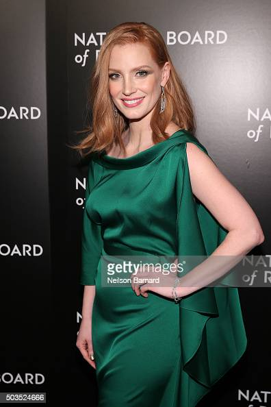 Actress Jessica Chastain attends the 2015 National Board of Review ...
